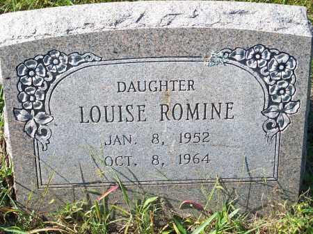 ROMINE, LOUISE - Washington County, Arkansas | LOUISE ROMINE - Arkansas Gravestone Photos