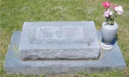 AARON, ROSA - Washington County, Arkansas | ROSA AARON - Arkansas Gravestone Photos