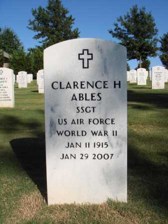 ABLES  (VETERAN WWII), CLARENCE HOWARD - Washington County, Arkansas | CLARENCE HOWARD ABLES  (VETERAN WWII) - Arkansas Gravestone Photos