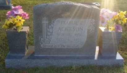 ACHESON, PEARLIE ESTHER - Washington County, Arkansas | PEARLIE ESTHER ACHESON - Arkansas Gravestone Photos