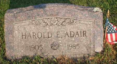 ADAIR, HAROLD EARL - Washington County, Arkansas | HAROLD EARL ADAIR - Arkansas Gravestone Photos
