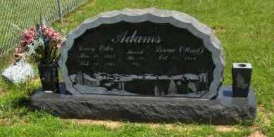 ADAMS, CAREY ESTIN - Washington County, Arkansas   CAREY ESTIN ADAMS - Arkansas Gravestone Photos