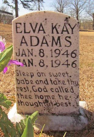 ADAMS, ELVA KAY - Washington County, Arkansas   ELVA KAY ADAMS - Arkansas Gravestone Photos