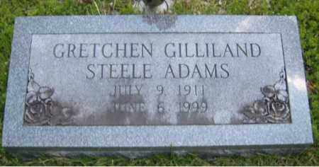 ADAMS, GRETCHEN - Washington County, Arkansas | GRETCHEN ADAMS - Arkansas Gravestone Photos