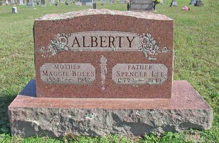 ALBERTY, MAGGIE - Washington County, Arkansas | MAGGIE ALBERTY - Arkansas Gravestone Photos