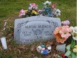 ALDACO, ALICIA - Washington County, Arkansas | ALICIA ALDACO - Arkansas Gravestone Photos