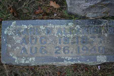 ALEXANDER, PEARL D. - Washington County, Arkansas | PEARL D. ALEXANDER - Arkansas Gravestone Photos