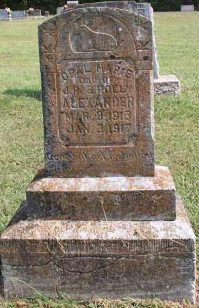 ALEXANDER, OPAL MARIE - Washington County, Arkansas | OPAL MARIE ALEXANDER - Arkansas Gravestone Photos