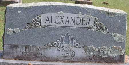 ALEXANDER, POLLY - Washington County, Arkansas | POLLY ALEXANDER - Arkansas Gravestone Photos