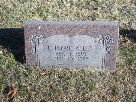 ALLEN, ELINORE - Washington County, Arkansas   ELINORE ALLEN - Arkansas Gravestone Photos