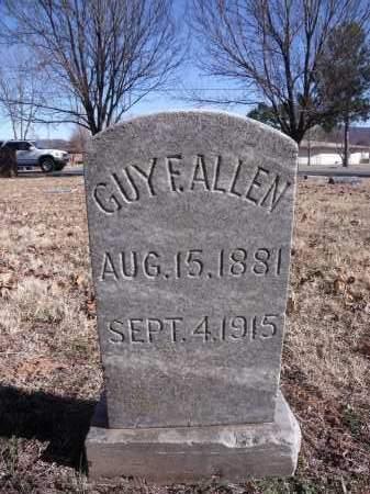 ALLEN, GUY F. - Washington County, Arkansas | GUY F. ALLEN - Arkansas Gravestone Photos