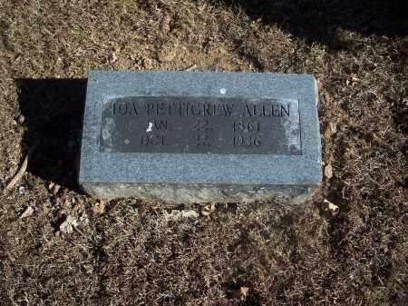 PETTIGREW ALLEN, IDA - Washington County, Arkansas | IDA PETTIGREW ALLEN - Arkansas Gravestone Photos