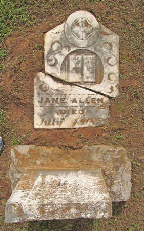 ALLEN, JANE - Washington County, Arkansas | JANE ALLEN - Arkansas Gravestone Photos