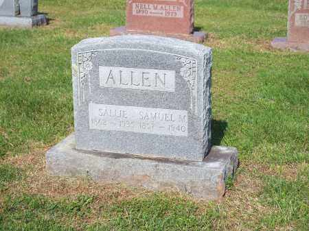 ALLEN, SALLIE - Washington County, Arkansas | SALLIE ALLEN - Arkansas Gravestone Photos