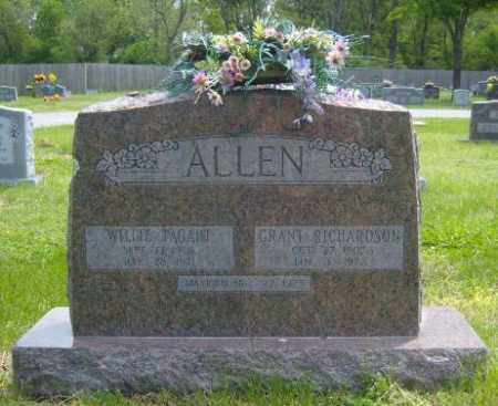 ALLEN, WILLIE - Washington County, Arkansas | WILLIE ALLEN - Arkansas Gravestone Photos