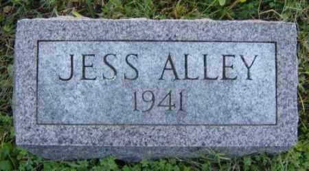 ALLEY, JESS - Washington County, Arkansas | JESS ALLEY - Arkansas Gravestone Photos