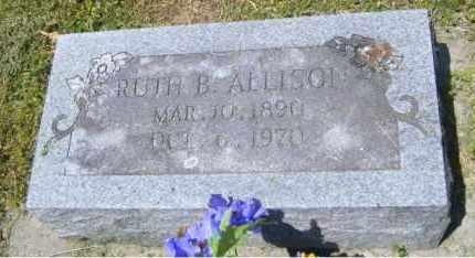ALLISON, RUTH B. - Washington County, Arkansas | RUTH B. ALLISON - Arkansas Gravestone Photos