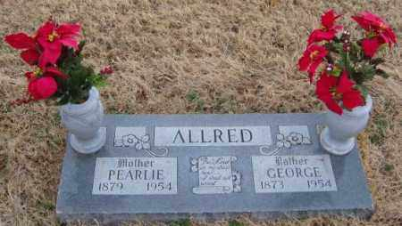 ALLRED, GEORGE - Washington County, Arkansas | GEORGE ALLRED - Arkansas Gravestone Photos