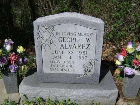 ALVAREZ, GEORGE W. - Washington County, Arkansas | GEORGE W. ALVAREZ - Arkansas Gravestone Photos