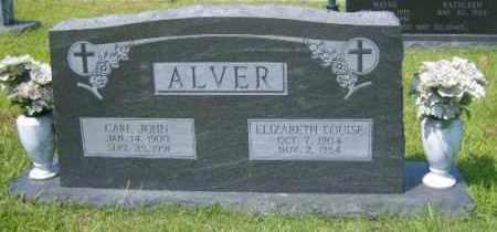 ALVER, CARL JOHN - Washington County, Arkansas | CARL JOHN ALVER - Arkansas Gravestone Photos