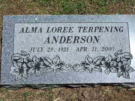 ANDERSON, ALMA LOREE - Washington County, Arkansas | ALMA LOREE ANDERSON - Arkansas Gravestone Photos
