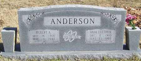 LUTTRELL ANDERSON, VADA - Washington County, Arkansas   VADA LUTTRELL ANDERSON - Arkansas Gravestone Photos