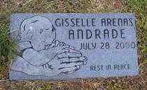 ANDRADE, GISSELLE ARENAS - Washington County, Arkansas   GISSELLE ARENAS ANDRADE - Arkansas Gravestone Photos