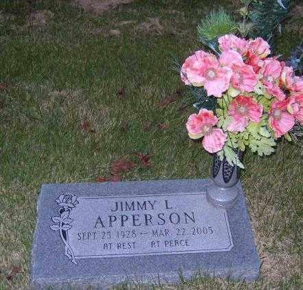 APPERSON, JIMMY L. - Washington County, Arkansas | JIMMY L. APPERSON - Arkansas Gravestone Photos