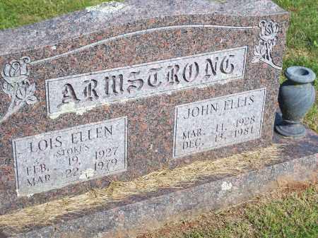 STOKES ARMSTRONG, LOIS ELLEN - Washington County, Arkansas | LOIS ELLEN STOKES ARMSTRONG - Arkansas Gravestone Photos