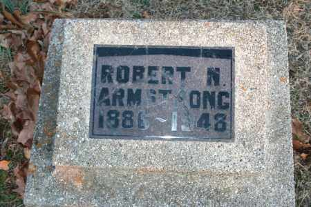 ARMSTRONG, ROBERT N. - Washington County, Arkansas | ROBERT N. ARMSTRONG - Arkansas Gravestone Photos
