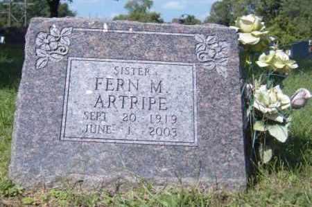 ARTRIPE, FERN M. - Washington County, Arkansas   FERN M. ARTRIPE - Arkansas Gravestone Photos