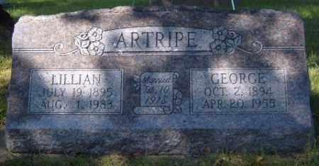 ARTRIPE, GEORGE - Washington County, Arkansas | GEORGE ARTRIPE - Arkansas Gravestone Photos