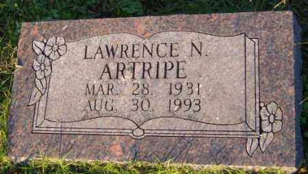 ARTRIPE, LAWRENCE N. - Washington County, Arkansas | LAWRENCE N. ARTRIPE - Arkansas Gravestone Photos