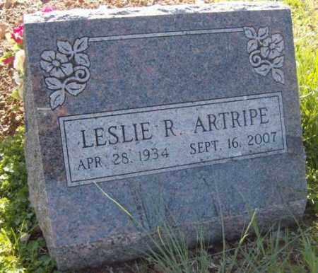 ARTRIPE, LESLIE R. - Washington County, Arkansas   LESLIE R. ARTRIPE - Arkansas Gravestone Photos