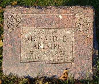 ARTRIPE, RICHARD E. - Washington County, Arkansas | RICHARD E. ARTRIPE - Arkansas Gravestone Photos