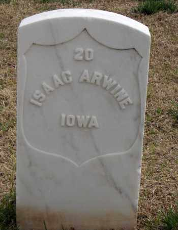 ARWINE (VETERAN UNION), ISAAC - Washington County, Arkansas | ISAAC ARWINE (VETERAN UNION) - Arkansas Gravestone Photos