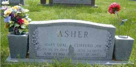 CONNER ASHER, MARY OPAL - Washington County, Arkansas | MARY OPAL CONNER ASHER - Arkansas Gravestone Photos