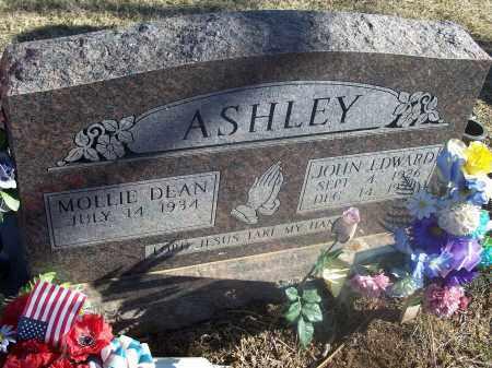 ASHLEY, JOHN EDWARD - Washington County, Arkansas   JOHN EDWARD ASHLEY - Arkansas Gravestone Photos
