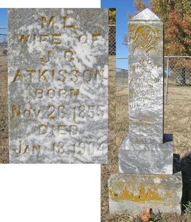 ATKISSON, M L - Washington County, Arkansas | M L ATKISSON - Arkansas Gravestone Photos