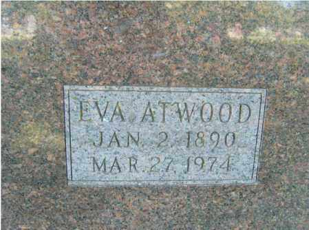 ATWOOD, EVA - Washington County, Arkansas | EVA ATWOOD - Arkansas Gravestone Photos
