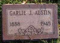 AUSTIN, GARLIE J - Washington County, Arkansas   GARLIE J AUSTIN - Arkansas Gravestone Photos