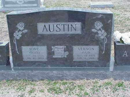 AUSTIN, VERNON (SAM) - Washington County, Arkansas   VERNON (SAM) AUSTIN - Arkansas Gravestone Photos