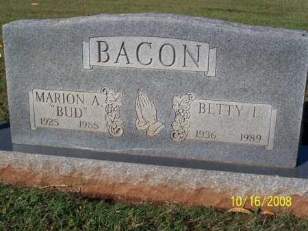 BACON, BETTY L. - Washington County, Arkansas | BETTY L. BACON - Arkansas Gravestone Photos