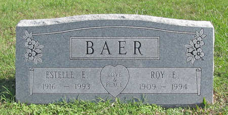 BAER, ROY EDMOND - Washington County, Arkansas | ROY EDMOND BAER - Arkansas Gravestone Photos