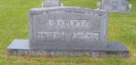 BAILEY, JOE WM. - Washington County, Arkansas | JOE WM. BAILEY - Arkansas Gravestone Photos
