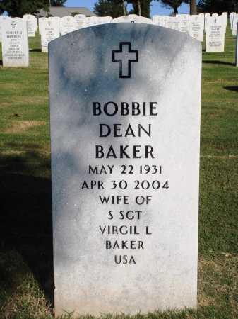 JOHNSON BAKER, BOBBIE DEAN - Washington County, Arkansas | BOBBIE DEAN JOHNSON BAKER - Arkansas Gravestone Photos