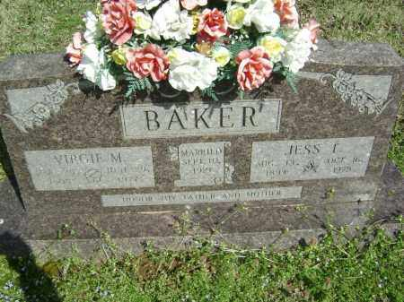 POPE BAKER, VIRGIE MAE - Washington County, Arkansas | VIRGIE MAE POPE BAKER - Arkansas Gravestone Photos