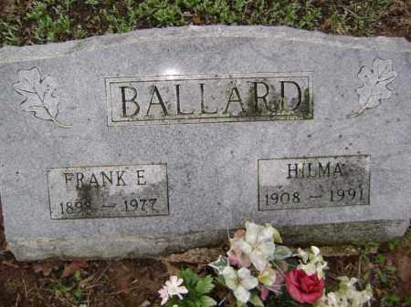 BALLARD, FRANK E. - Washington County, Arkansas | FRANK E. BALLARD - Arkansas Gravestone Photos