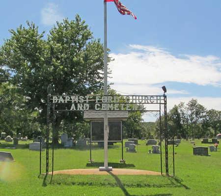 *BAPTST FORD CEMETERY SIGN,  - Washington County, Arkansas |  *BAPTST FORD CEMETERY SIGN - Arkansas Gravestone Photos