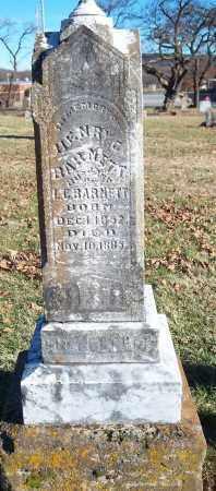 BARNETT, HENRY C. - Washington County, Arkansas | HENRY C. BARNETT - Arkansas Gravestone Photos